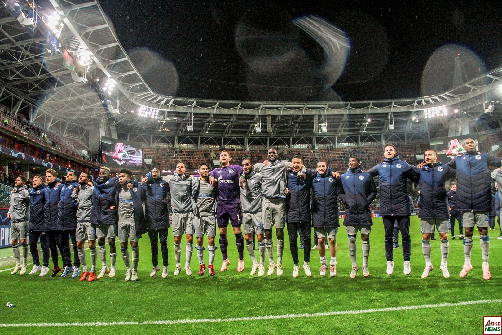ФК Шальке 04. Фото: Дмитрий Бурдонов / Loko.News