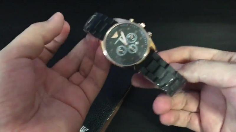 Часы клатч