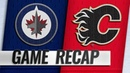Ehlers' second goal gives Jets OT win over Flames