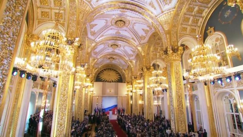 Коронация президента России