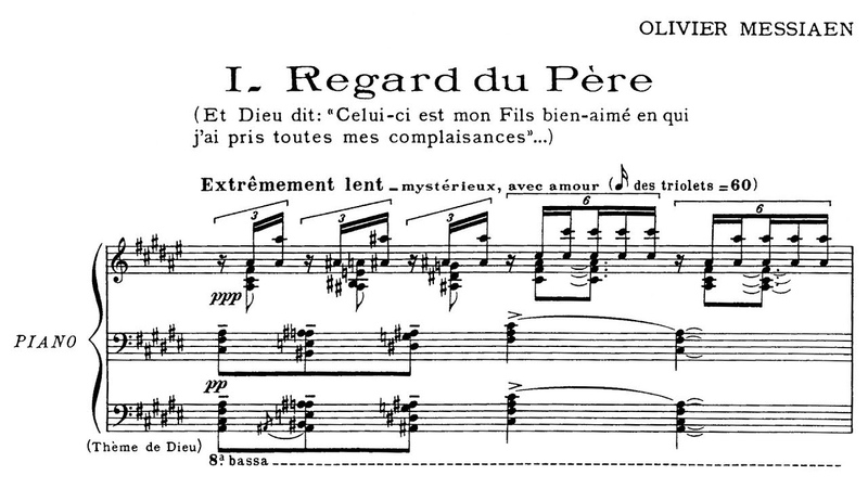Olivier Messiaen Vingt Regards sur l'Enfant Jésus 1944