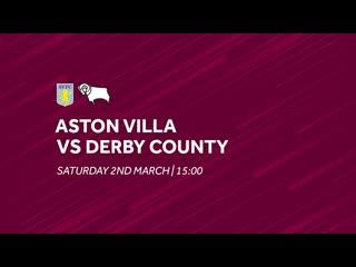 Aston Villa vs. Derby County _ Extended highlights