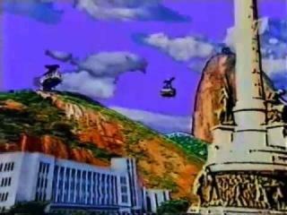 Заставка сериала Воздушные Замки (Andando nas nuvens)