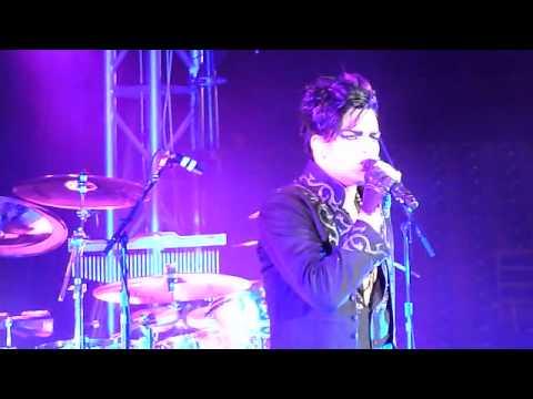 Adam Lambert performing Soaked in St. Petersburg, FL 9/18/10