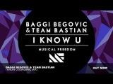 Baggi Begovic &amp Team Bastian - I Know U (Original Mix)