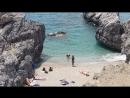 Пляжи Крита. Южный берег Крита. Пляж Ammoudi