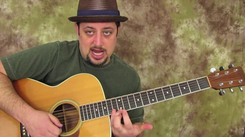 The E Acoustic Blues Scale that is the roadmap to playing up and down the back