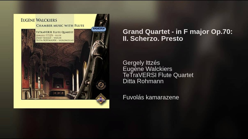 Grand Quartet - in F major Op.70: II. Scherzo. Presto