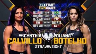 Синтия Калвильо vs Полиана Ботельо