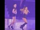 Танцы в Honeymoon Tour. Паблик: my idol is Ariana Grande