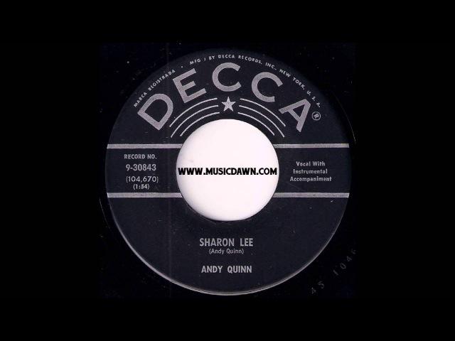 Andy Quinn - Sharon Lee [Decca] 1959 Popcorn Rockabilly 45