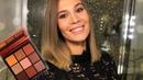 Праздничный макияж 2018. Huda Beauty Topaz Obsession. Анна Корн