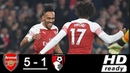 Arsenal vs Bournemouth 5-1 All Goals Highlights