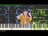 (PPAP) Pen Pineapple Apple Pen on the Piano (MIDI Synthesia)
