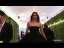Видео с YouTube издания Vogue с кинопремии Золотой Глобус Беверли Хиллз 07 января 2018