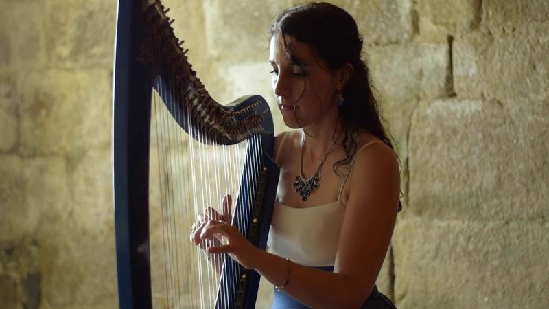 Stairway to Heaven LED ZEPPELIN harp harpe arpa Marion Le Solliec