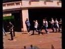 England vs Scotland hooligans fighting in London