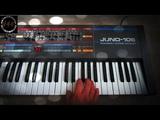 Roland Juno-106 Analog Synthesizer (1984) Manic Tuesday - 80s synthpop retrowave track