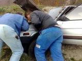 Subaru Justy starting engine after 6 years six feet under 2