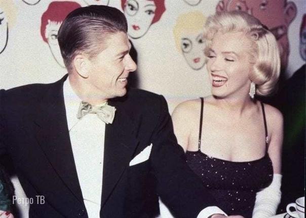 Рональд Рейган и Мэрилин Монро, 1959 г.