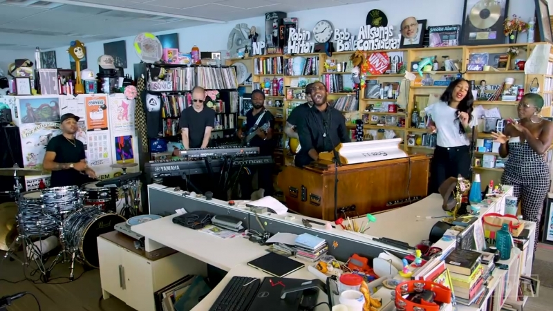 Cory Henry The Funk Apostles_ NPR Music Tiny Desk Concert