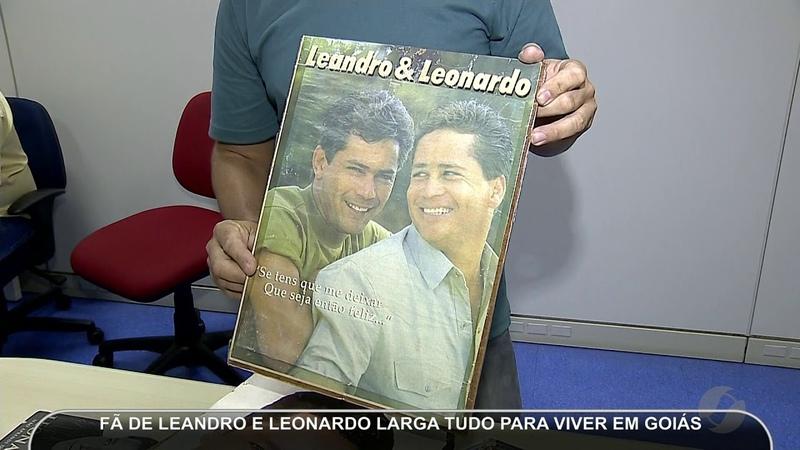 JMD (30/03/19) - Fã de Leandro e Leonardo larga tudo para viver em Goiás