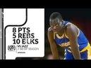Manute Bol 8 pts 5 rebs 10 blks vs Jazz 88/89 season