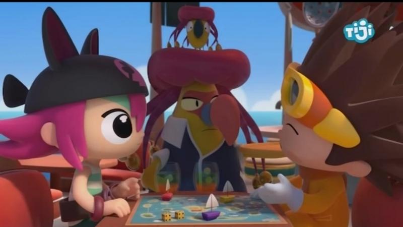 Пиратка и капитан (Игра на звенящем банане))