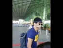 Sushant Singh Rajput spotted at the Mumbai Airport today