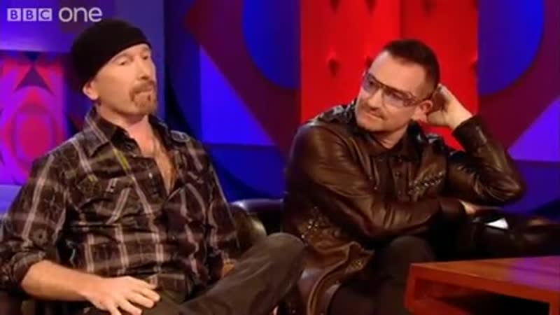 When The Edge Punched Bono - Friday Night with Jonathan Ross - BBC One