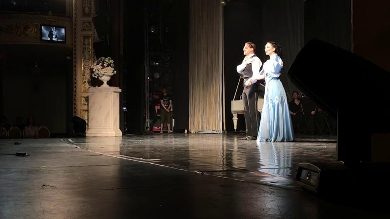 Александр Леногов и Мария Елизарова