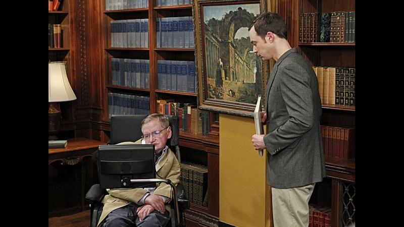 TBBT — Стивен Хокинг. Все роли в Теории большого взрыва.