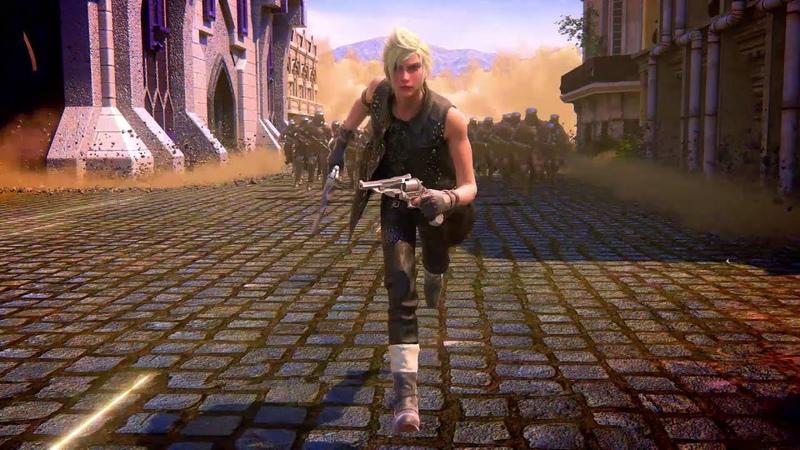 Final Fantasy XV A New Empire Trapped
