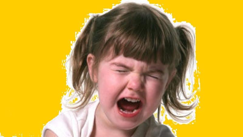 Детская истерика перед сном