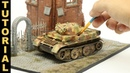 Let's build and paint a realistic WWII German tank model from start to finish