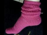 Мастер-класс по вязанию носков КРЮЧКОМ