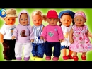 Куклы пупсики мини Беби Борн Элайв. Игры в игрушки для девочек сериал Mini Baby Born Alive