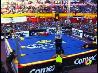 (WWEWM) AAA - Angelico, Drago & Jack Evans vs. Argos , Chessman & Halloween (Six Man Tag Team Match)