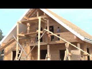 Дом из профилированного бруса. Проекты деревянных домов.МОГУТА