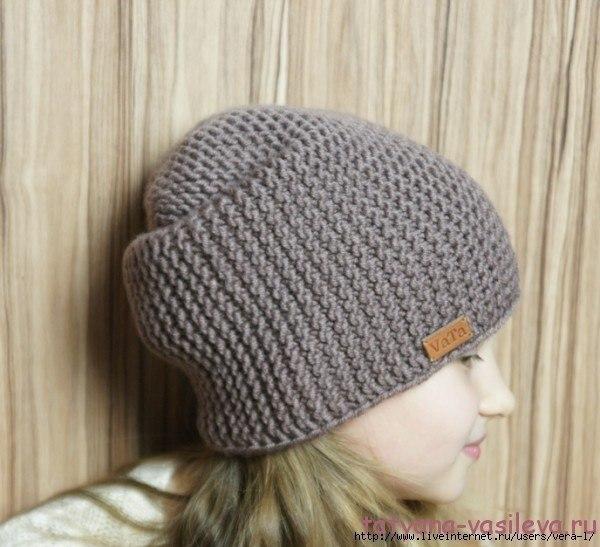 обалденная шапка от