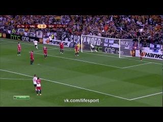 Валенсия 3:1 Севилья | Обзор матча HD