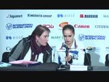 LIVE 🔴 Ladies Free Skating Press Conference Vancouver 2018