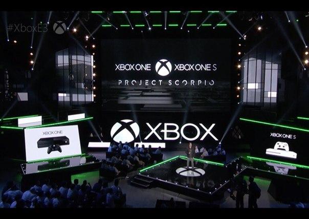 Microsoft анонсировала Project Scorpio