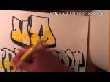 Этот парень действительно умееть рисовать граффити