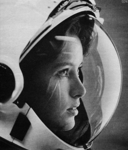 Прекрасный портрет астронавта Анны Ли Фишер для журнала Life.