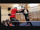 FSW Academy Show Ashleigh Stark vs Robbie Reed Mixed Wrestling