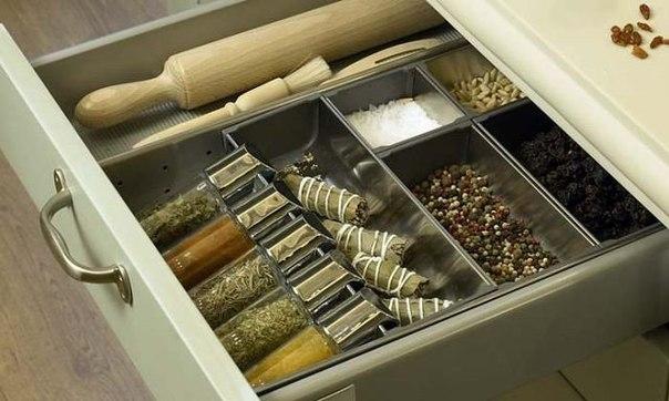 Правильный кухонный ящик (1 фото)
