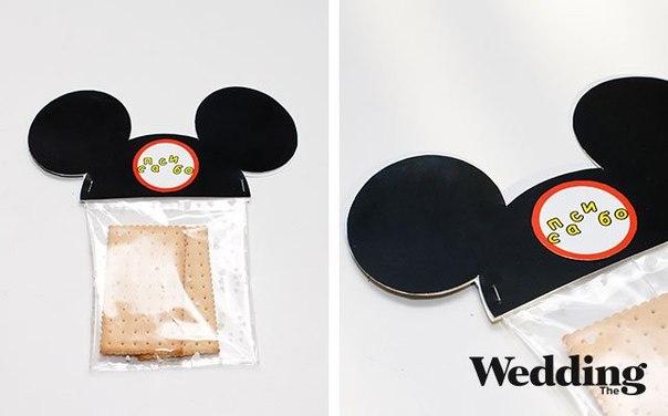 Как сделать бонбоньерки с ушками Микки Мауса… (9 фото) - картинка