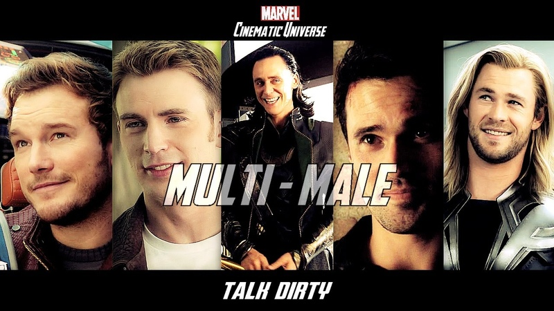 MultiMale Marvel Cinematic Universe Talk Dirty