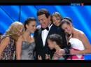 Иосиф Кобзон и внучки Не грусти дедушка И Грибулина Юбилейный вечер Я люблю тебя жизнь 2012